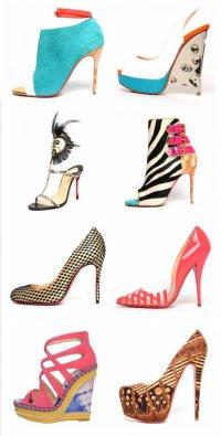 Коллекция обуви от Christian Louboutin весна 2013