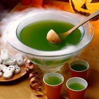 Блюда на Хэллоуин: ведьминский пунш