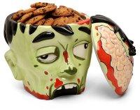 Банка для печенья в виде головы зомби