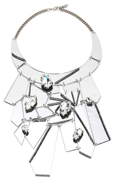 Зеркальное ожерелье от Erickson Beamon
