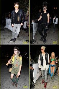 Актеры сериала Glee на вечеринке Мэттью Моррисона