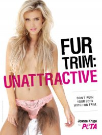 Новая реклама PETA против меха