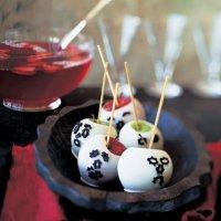 Яблоки в белой карамели