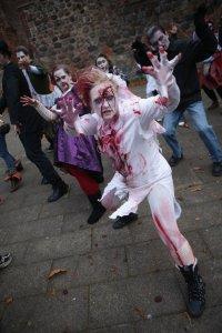 Марш зомби в Берлине