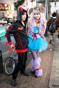 Хэллоуин на улицах Токио