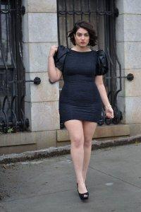 Одежда для полных: маленькое черное платье