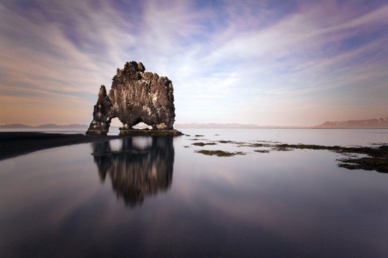 Скала Хвитсеркур, Исландия
