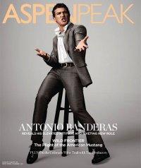Антонио Бандерас на обложке журнала Aspen Peak