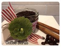 Кофейный скраб для тела с корицей и мускатным орехом