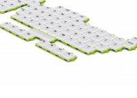 Концептуальная клавиатура-пазл с наборными клавишами от Wan Fu Chun