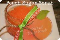 Сахарный скарб с ароматом персика