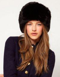 Модные шапки 2012-2013: в меховом плену