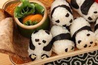 Рисовые шарики «Панды»