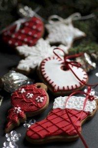 Украшение печенья к Новому году