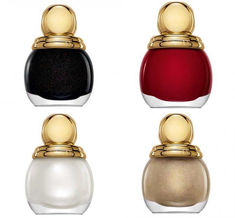 Лаки для ногтей Diorific из лимитированной рождественской коллекции Grand Bal от Dior