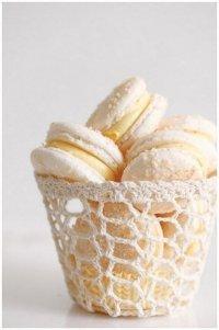 Печенье ванильный макарун
