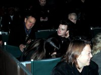 Крис Колфер и Лиа Мишель на концерте Барбры Стрейзанд