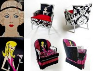 Стильные ретро-кресла Boom Boom Chairs от Кристины Дельвеккио