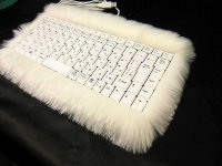 Пушистая клавиатура