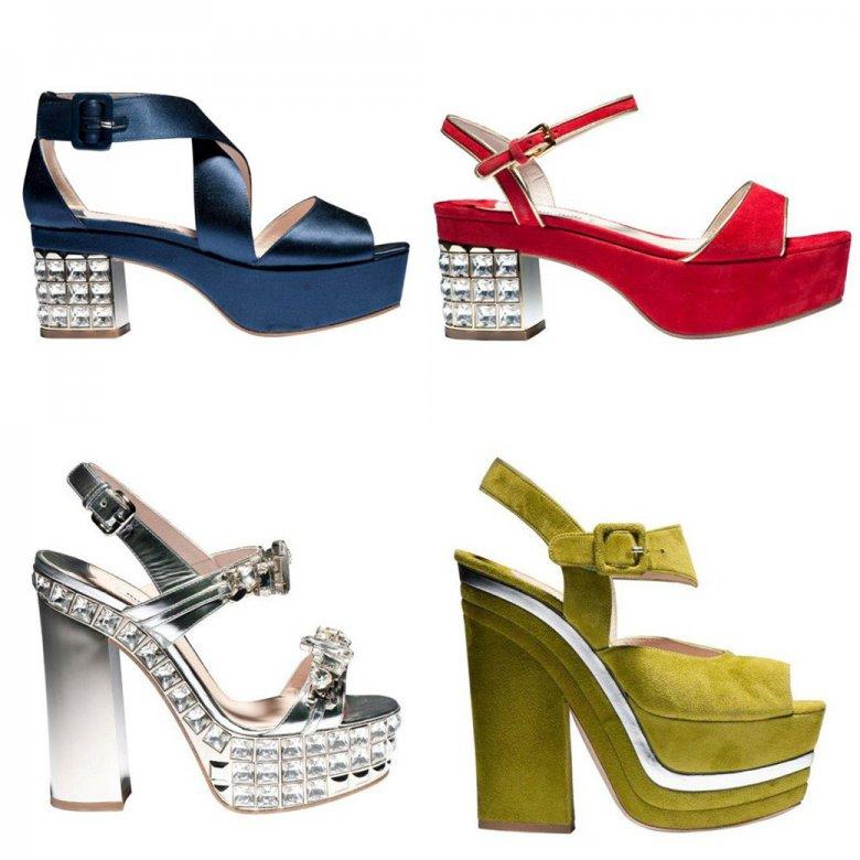 Miu Miu выпустили круизную коллекцию обуви в стиле 70-х