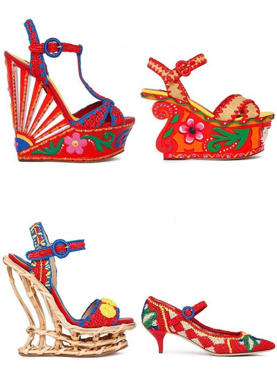 Коллекция модной обуви Dolce & Gabbana весна 2013