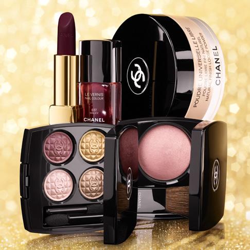 Chanel выпустили рождественскую коллекцию макияжа Eclats du Soir