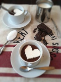 Горячий шоколад по-итальянски