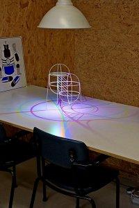 Необычная лампа CMYK lamp от Дениса Паррена