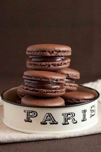 Печенье шоколадный макарун