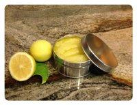 Лимонный сахарный скраб для тела