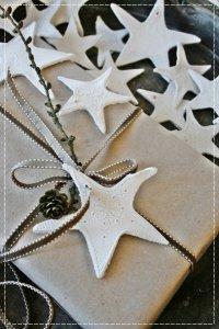 Упаковка подарков: звездочки