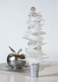 Новогодняя елка из утеплителя