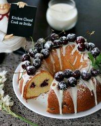 Вишневый рождественский пирог