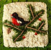 Салат «Снегирь»