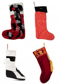 Дизайнерские рождественские носки