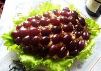 Новогодний салат «Гроздь винограда»