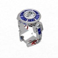 Эксклюзивное кольцо для помолвки R2-D2