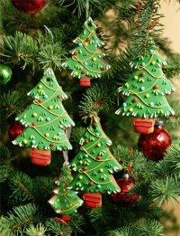 Новогоднее печенье «Елочка»
