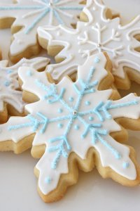 Печенье «Снежинки»
