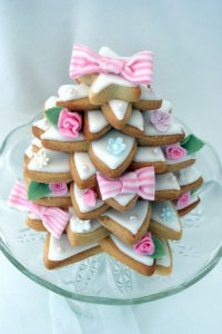 Новогодний торт «Елка» из печенья