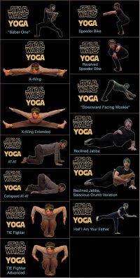 Йога для любителей «Звездных войн»