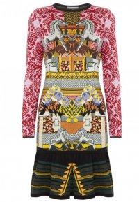 Яркое шерстяное платье Mary Katrantzou