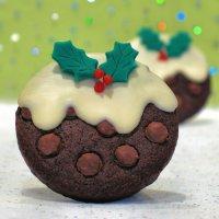 Тройное шоколадное рождественское печенье
