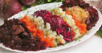 Блюда к посту: винегрет с капустой