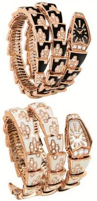Украшения к году Змеи: часы Bulgari Serpenti