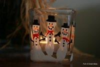 Креативный новогодний подсвечник своими руками
