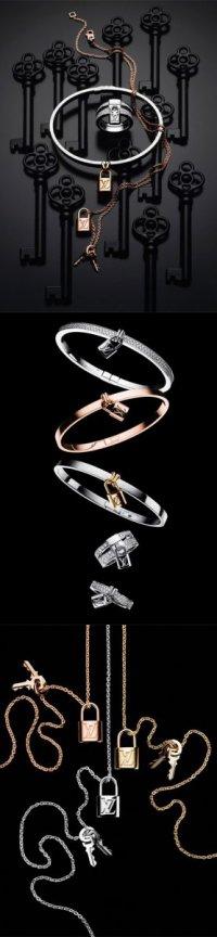 Коллекция украшений Louis Vuitton Lockit