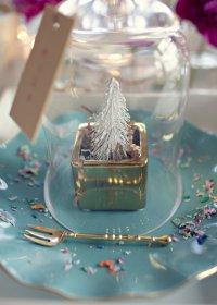 Идея для новогодей сервироки стола