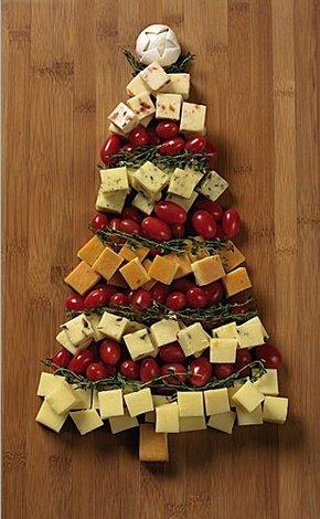 Новогодняя закусочная елка