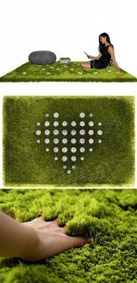 Ромашковый ковер-лужайка Daisy Garden Rug